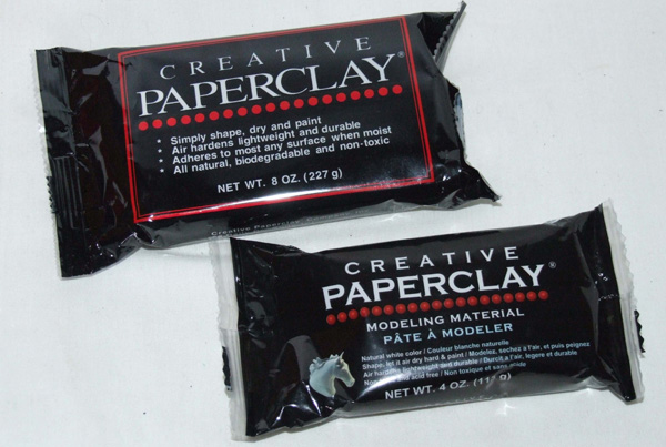 Paperclay packets
