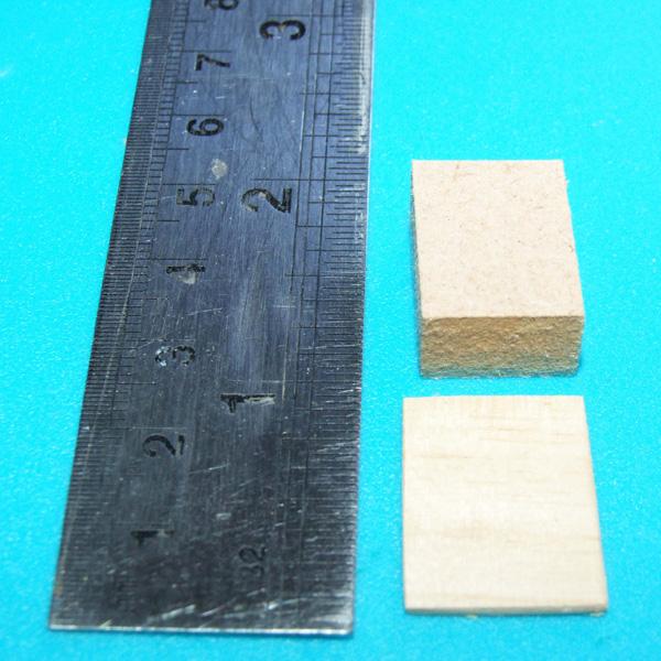 Small blocks of wood