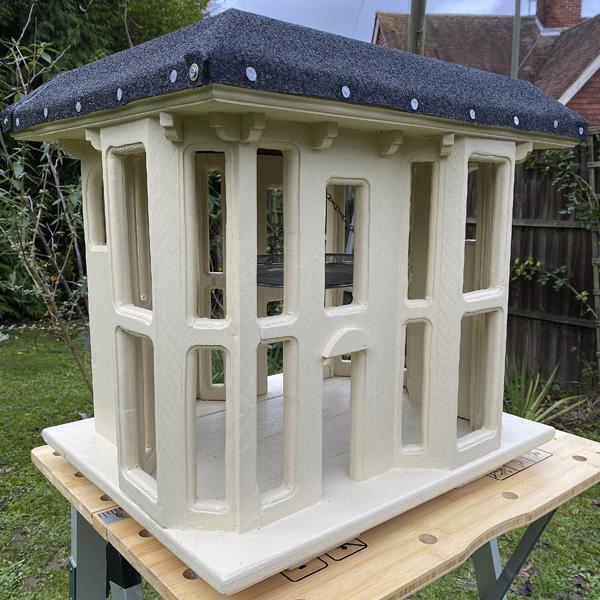 Simon Williams Miniatures building in progress