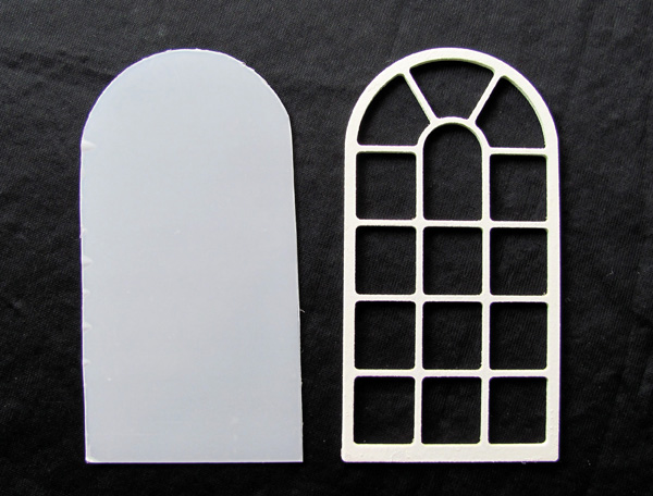 Miniature window glazing