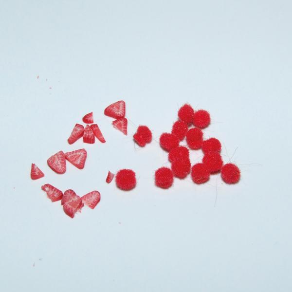 Creating miniature jam texture