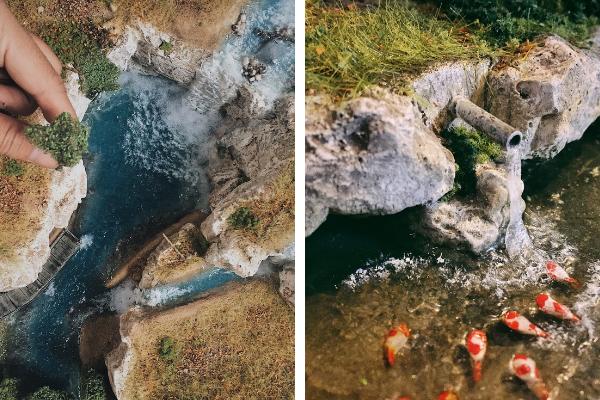 Max Aditya miniature scenes in nature