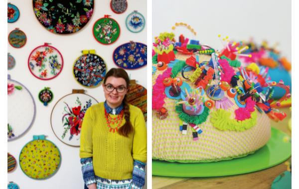 Jess Grady embroiderer