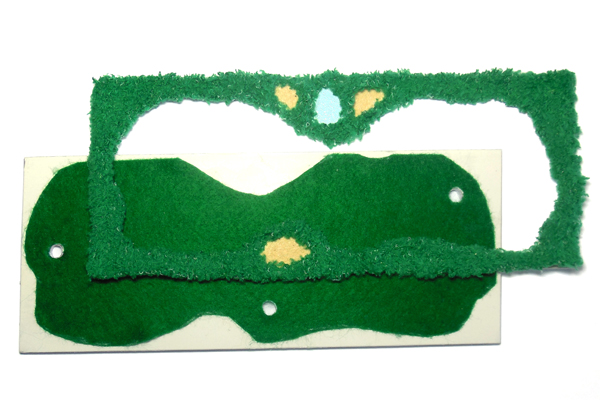 Prepare-the-Green-miniature-golf-green