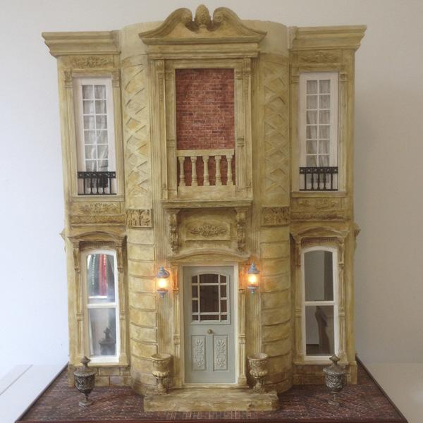 Simon Williams Miniatures mansion