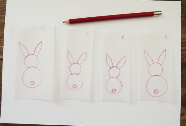 Tracing bunny templates
