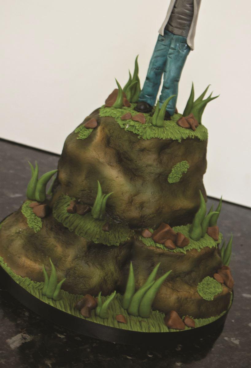 Zombie cake step 35
