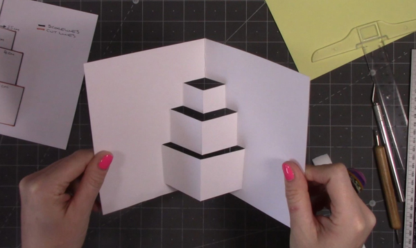 pop-out-card-cake-shape
