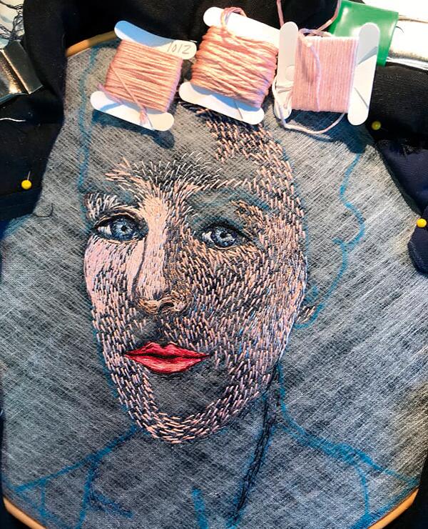 Stitching skin