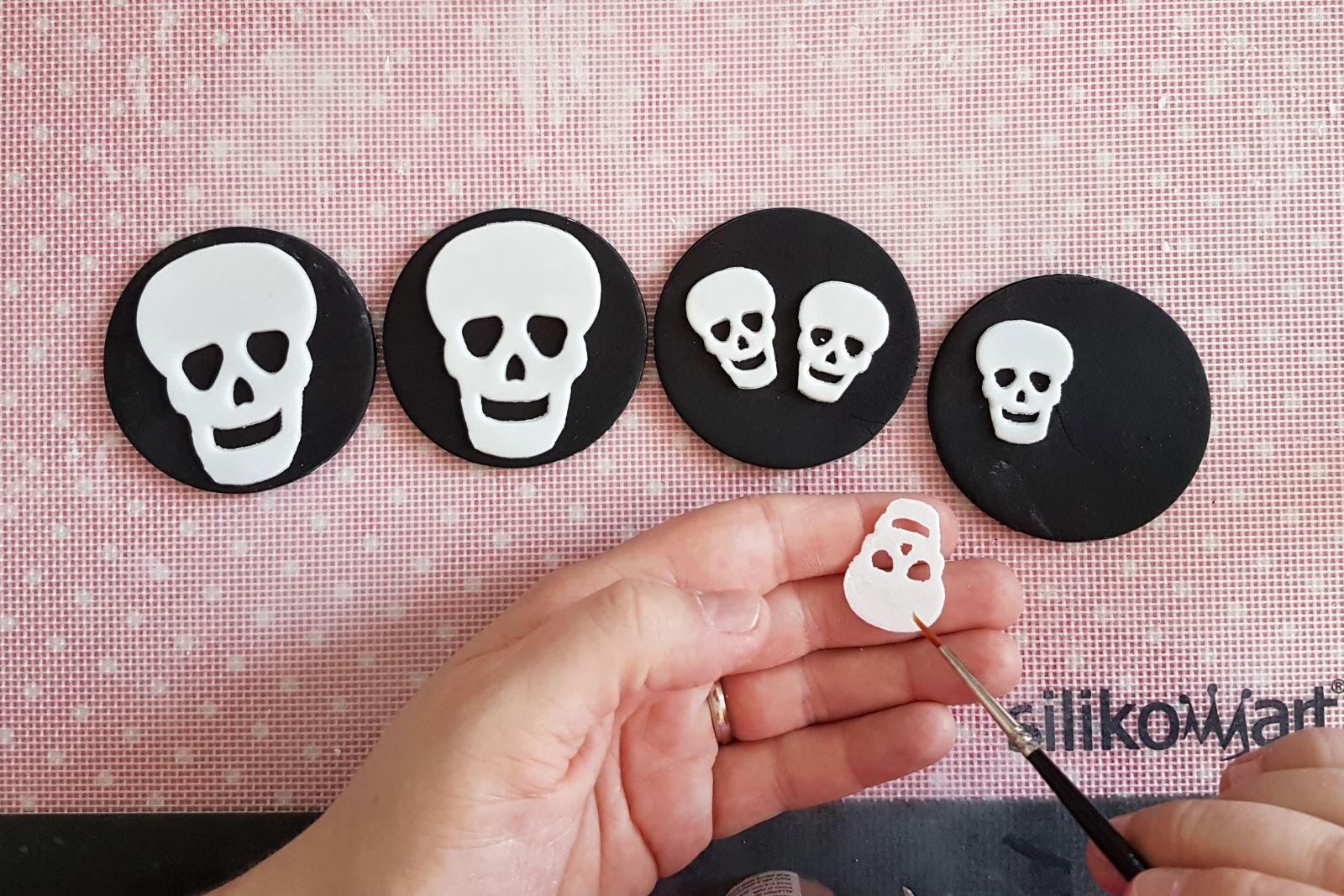Sugar skull step 5