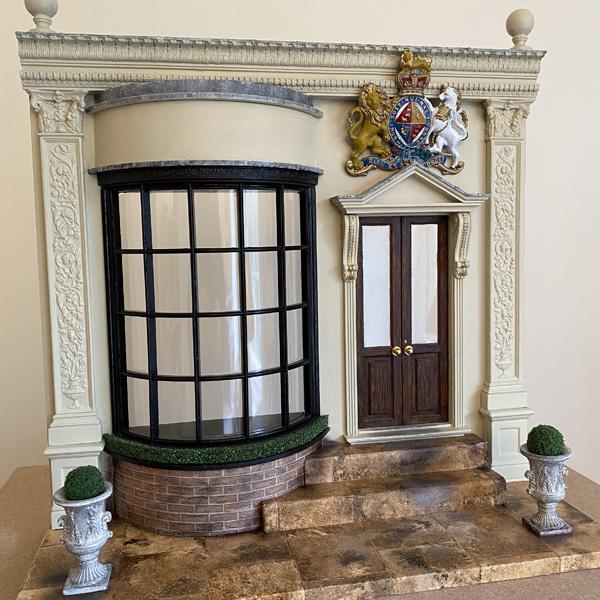 Simon Williams Miniatures building