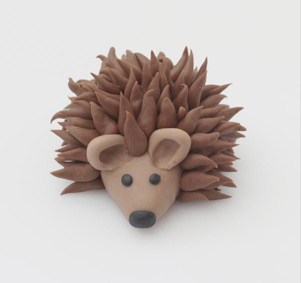 fondant hedgehog