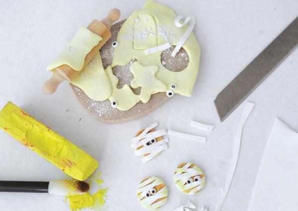 mummy miniature cookies