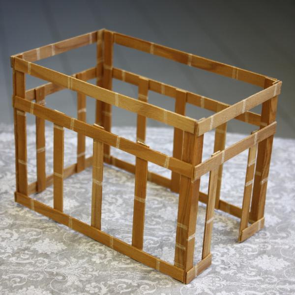 assembling miniature greenhouse