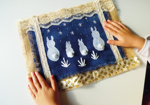 Bunnies wall hanging