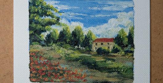 miniature oil painting tutorial
