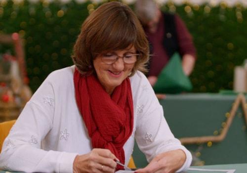 Alison Yeates on Kirstie's Handmade Christmas 2020