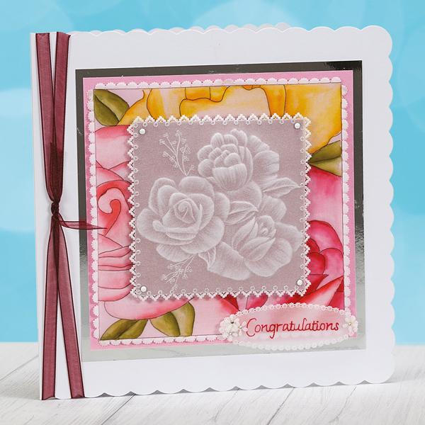 Alison Yeates congratulations card