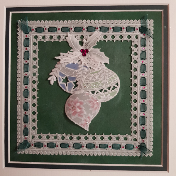 Alison Yeates' parchment craft creation