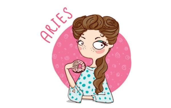 Free digi stamp: Aries