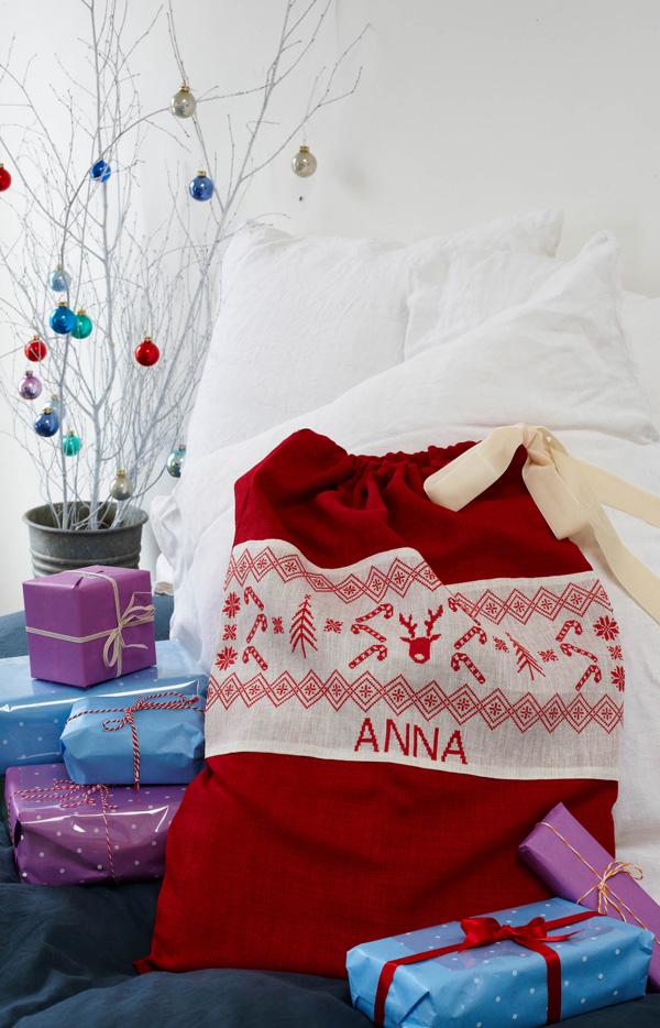 Bobo Stitch Christmas sack Image credit Cico Books