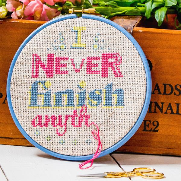 Bobo Stitch I never finish cross stitch