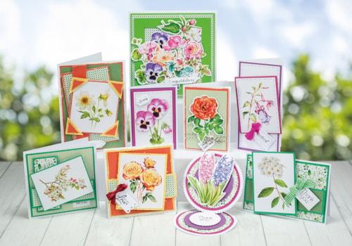 Flower card making ideas: 9 vintage botanical designs