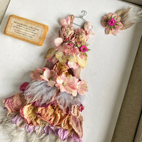 Boxed dress by Gemma Harris