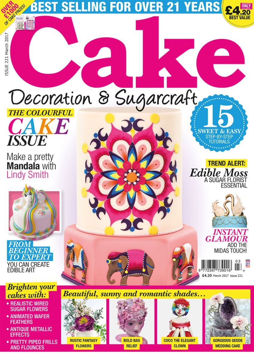 MARCH 2017 CAKE DECORATION AND SUGARCRAFT MAGAZINE
