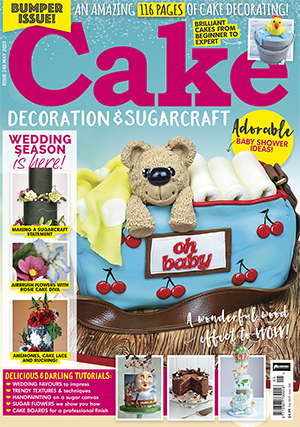 MAY 2019 CAKE DECORATION & SUGARCRAFT FRONT COVER