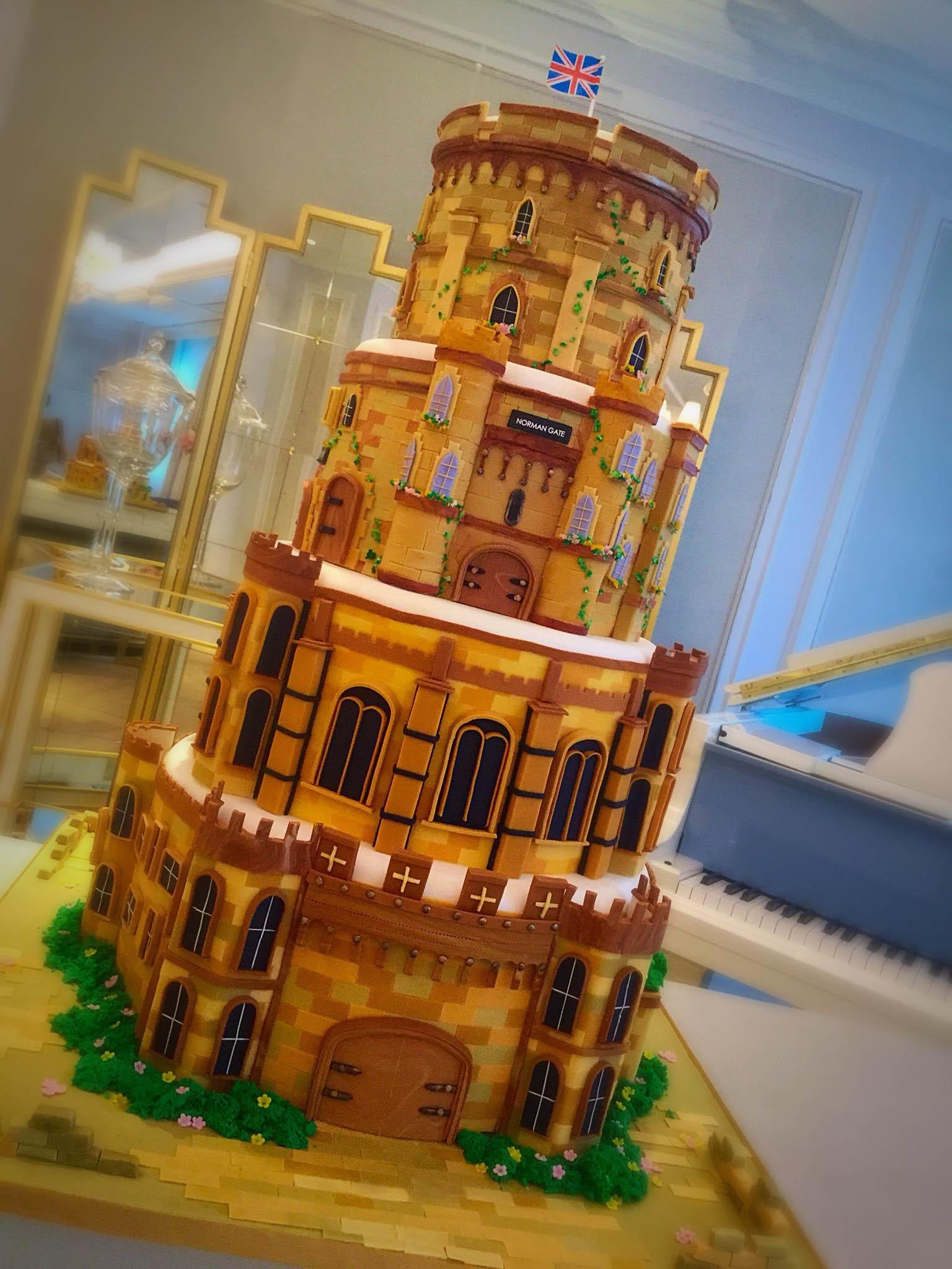 Cherish Finden Norman Gate cake