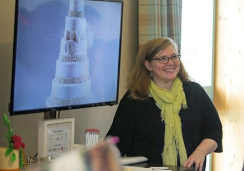 bridal show, wedding cake, christine jensen