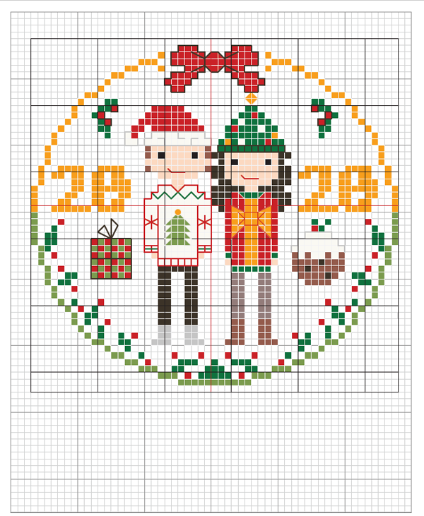 Christmas jumpers 2020 crossstitcher download stitch people
