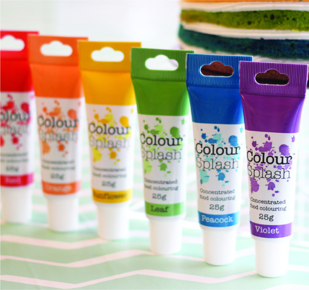 Culpitt COlour Splash products