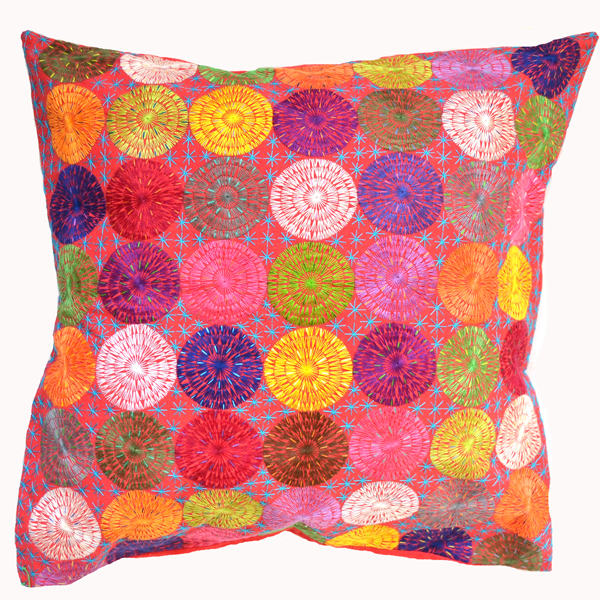 Cushion cover made by Guerceline - Stitch Sainte Luce