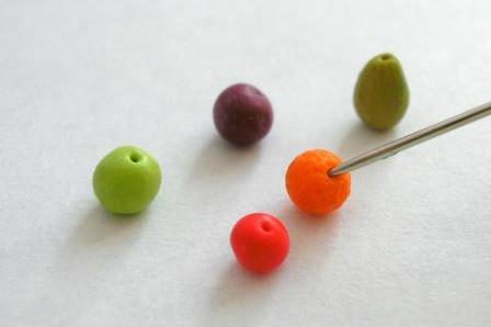 marzipan fruit step 4