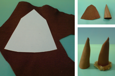 Wizard's hat step 1