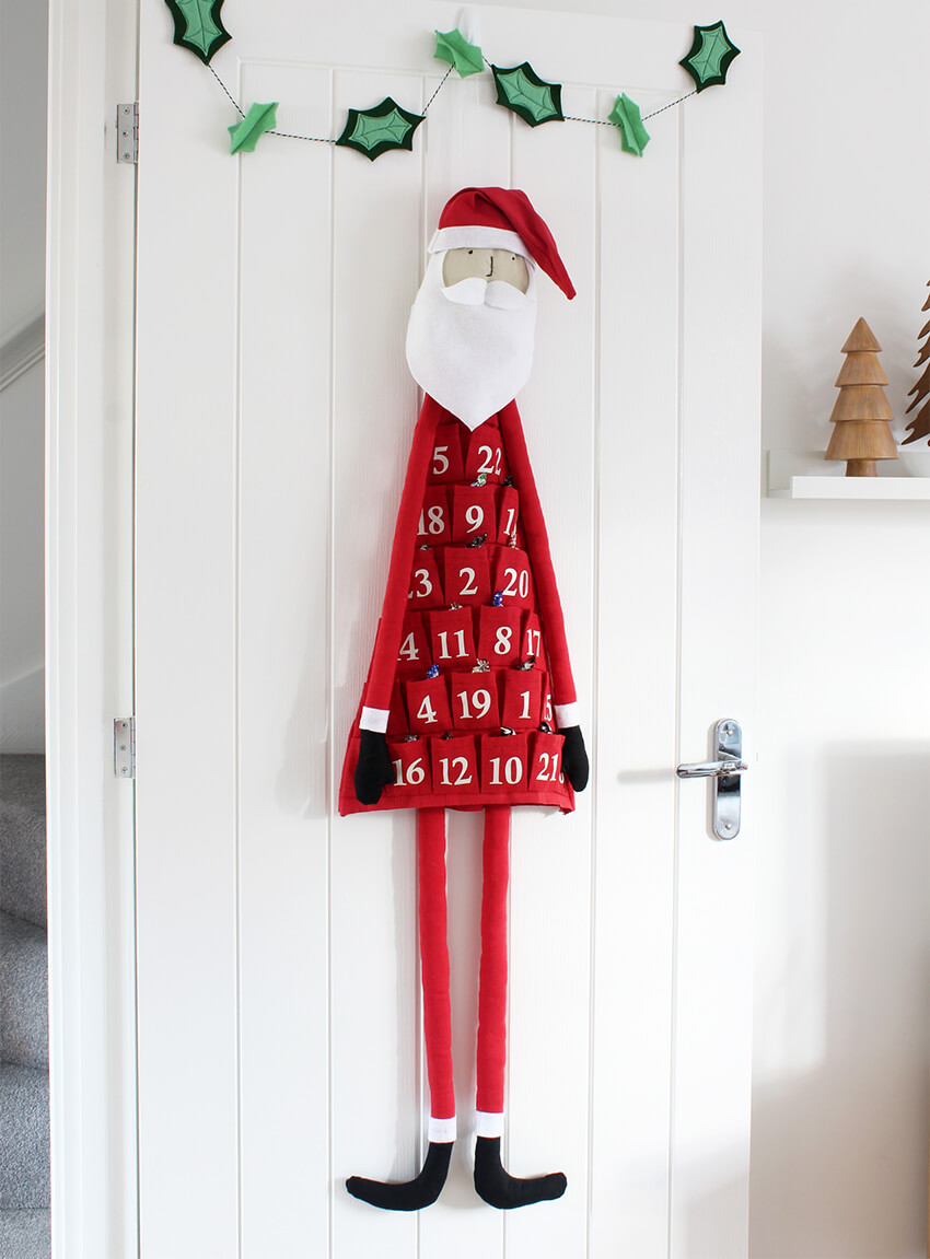 diy santa crafty gent