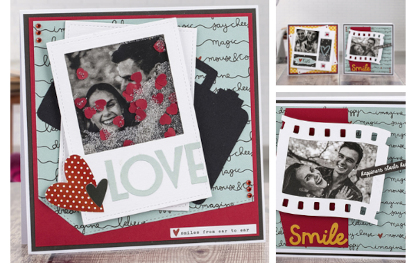 DIY Valentine's Day cards with photos