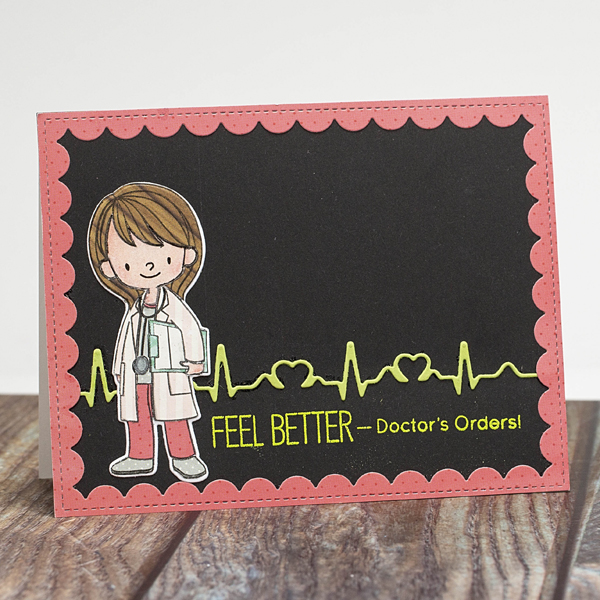 Feel better card doctors orders