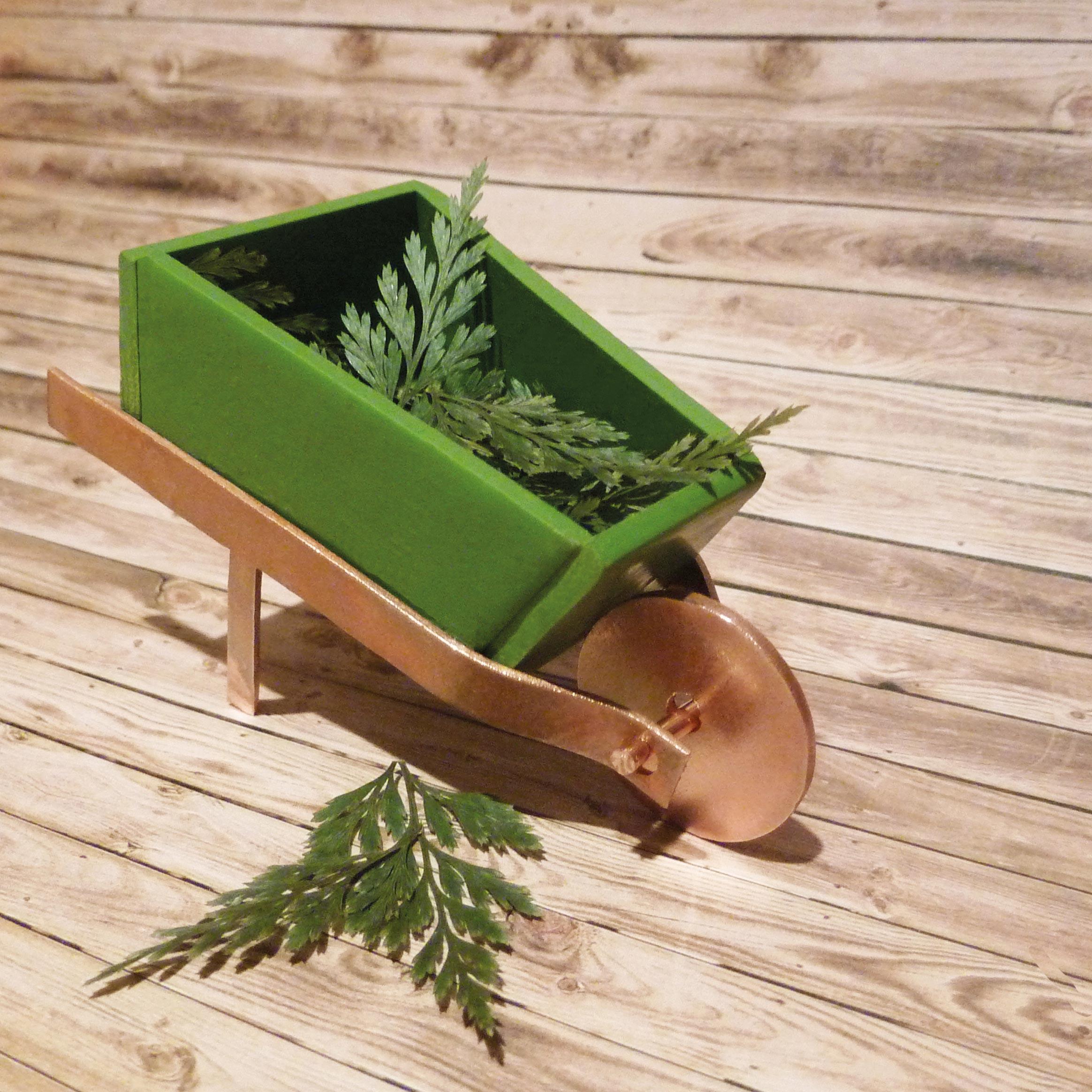 miniature-garden-wheelbarrow