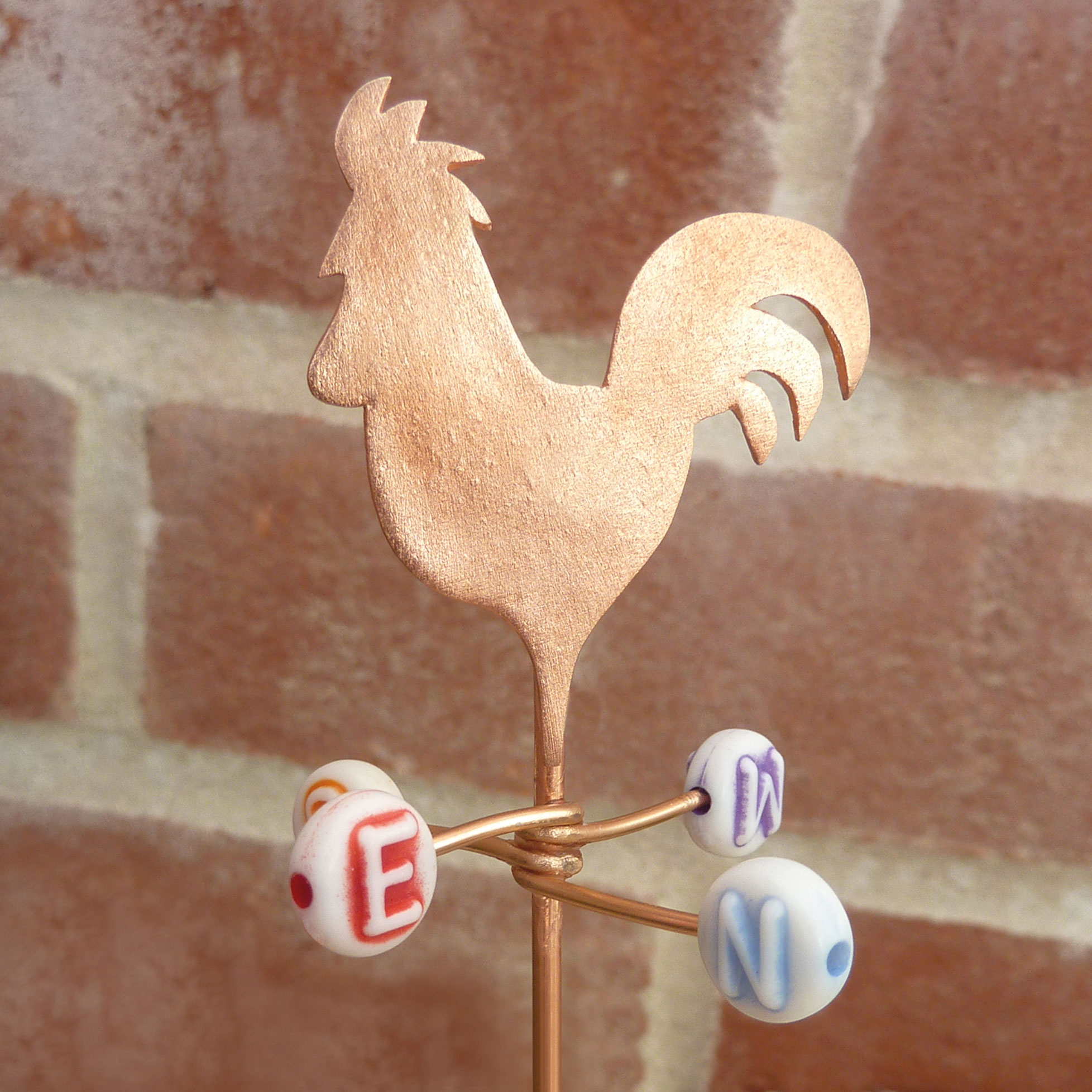 miniature-rooster-weather-vane