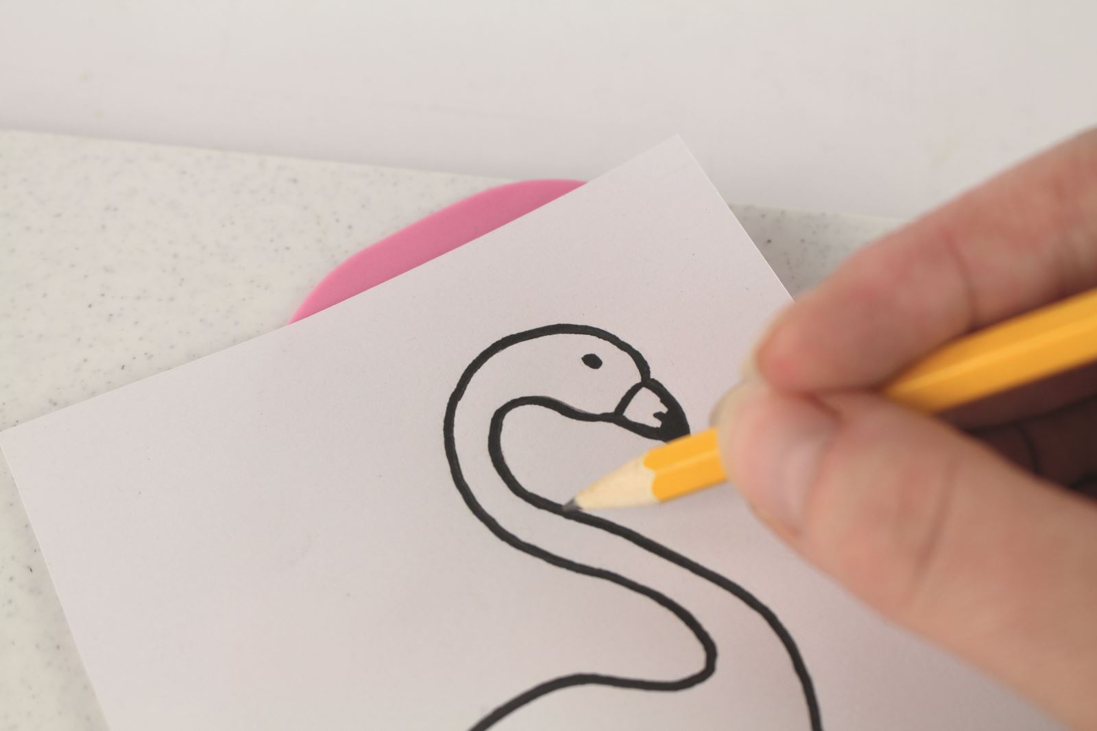 Fabulous flamingo step 16