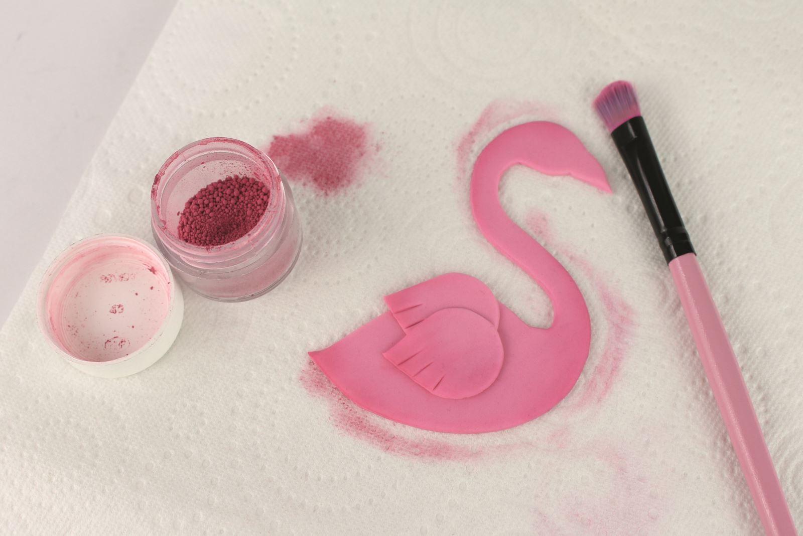 Fabulous flamingo step 19