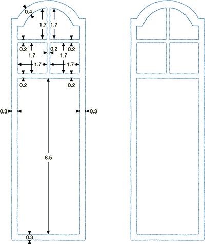 Folding screens step 2