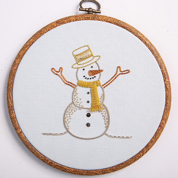 'Forever Frosty' by Ilke Cochrane from Stitch issue 127