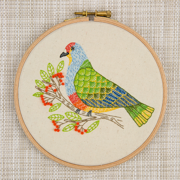 Fruit-Dove-chloe-redfern-embroidery