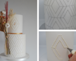 Geometric cake tutorial