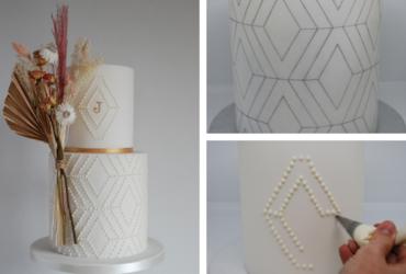 Geometric cake tutorial