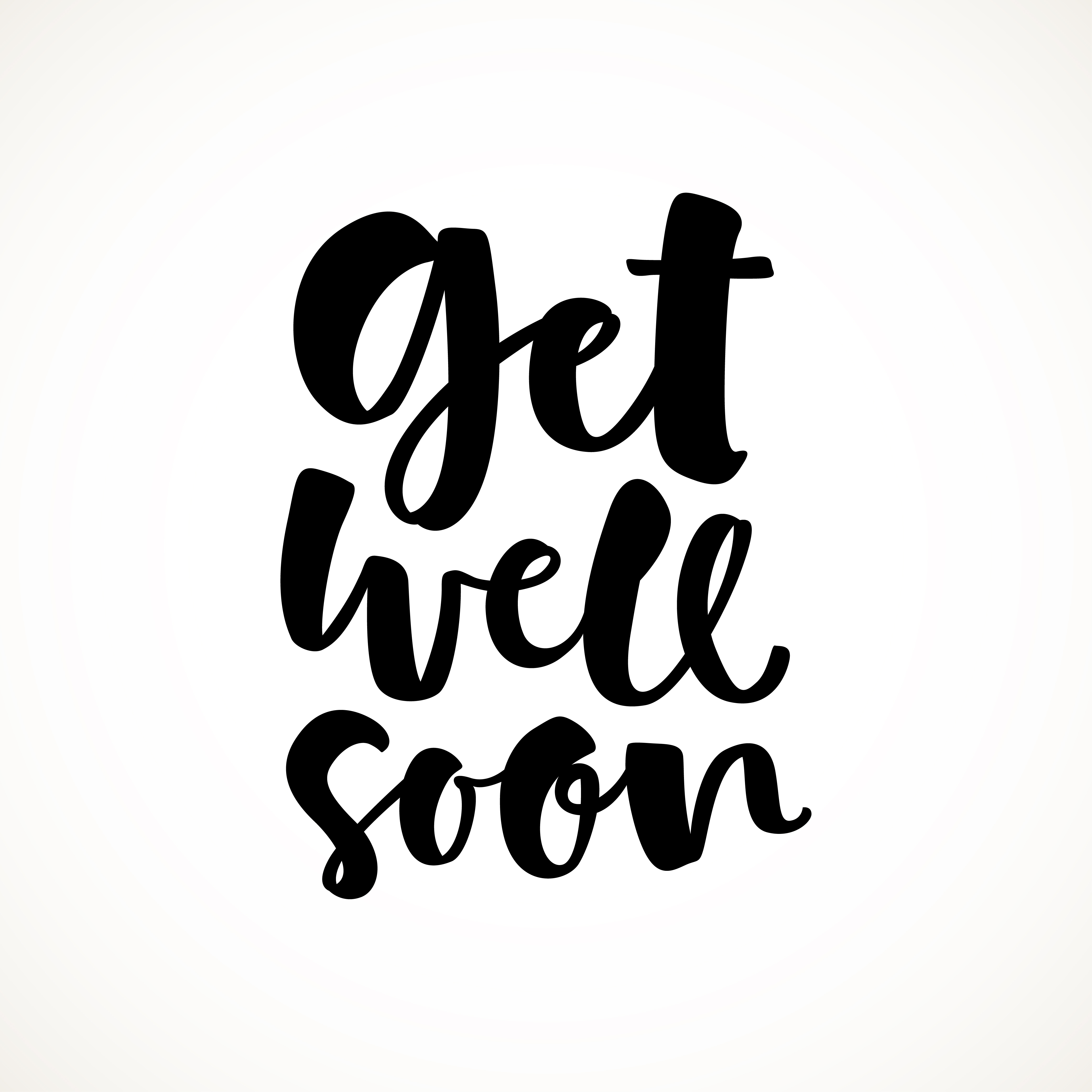 Get well soon sentiment